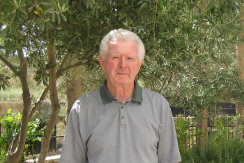 Dr. Burton MacDonald at ACOR in 2010.