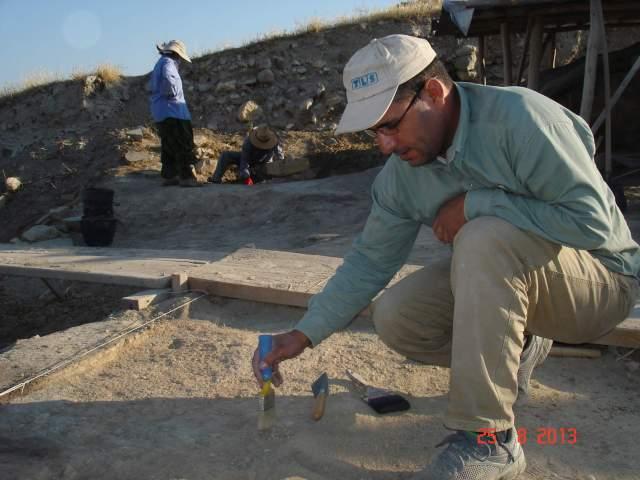 Zakariya at Arslan Tepe