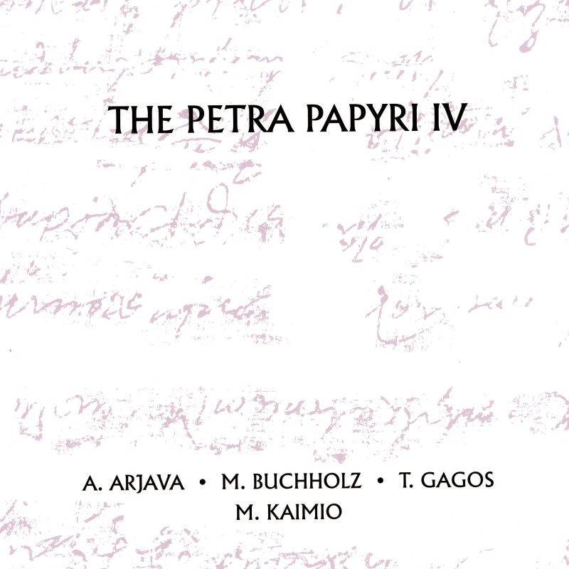 The Petra Papyri IV