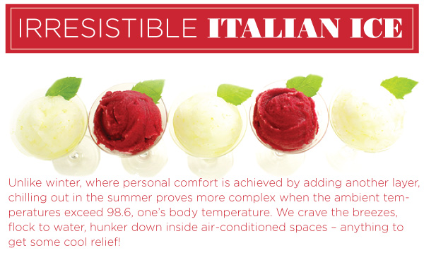 Irresistible Italian Ice