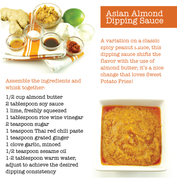 Asian Almond Dipping Sauce