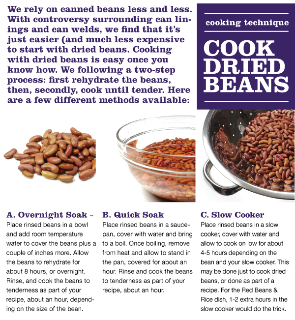 Cooking Technique: Cook Dried Beans