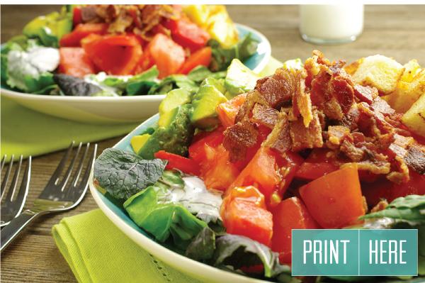 BLT Salad: Print Here