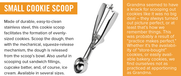 Small Cookie Scoop