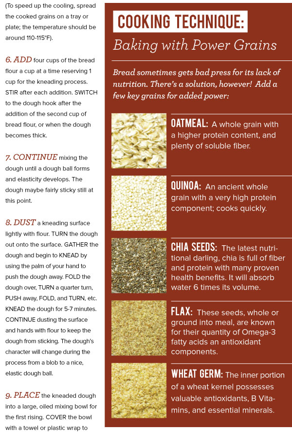 Cooking Technique: Baking with Power Grains