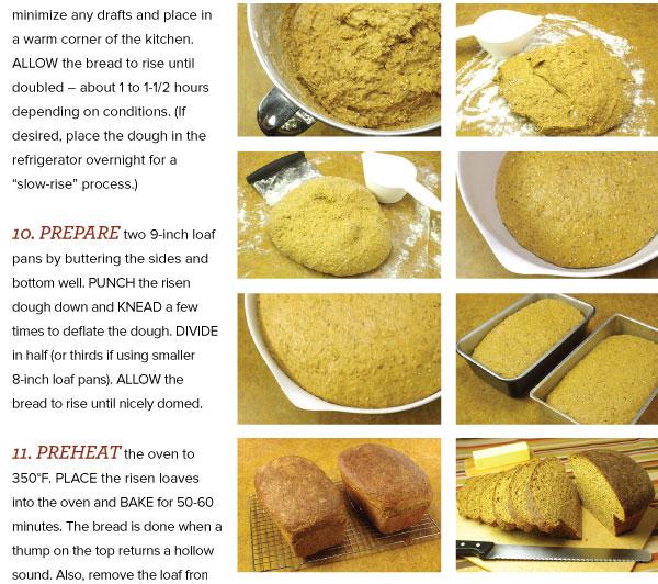 Finishing the Bread