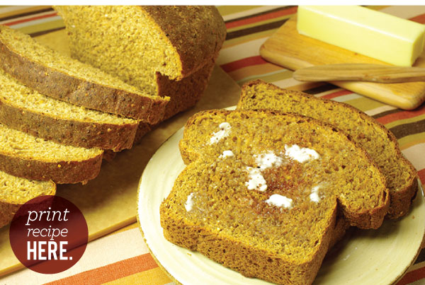 RECIPE: Oatmeal Protein Bread