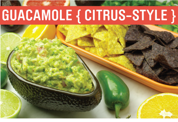 Guacamole Citrus-Style