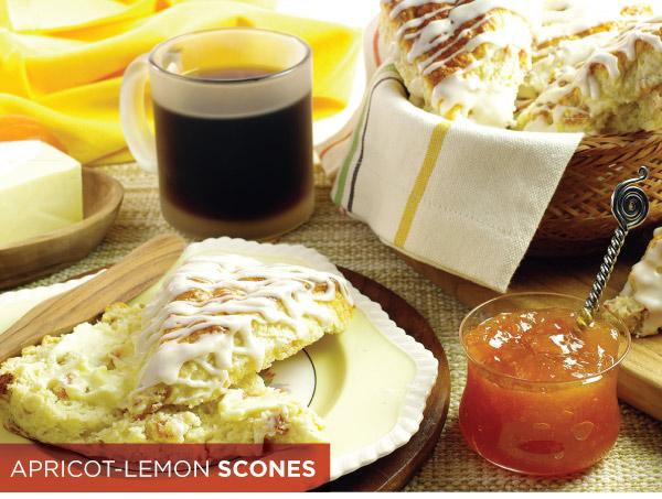 Apricot-Lemon Scones