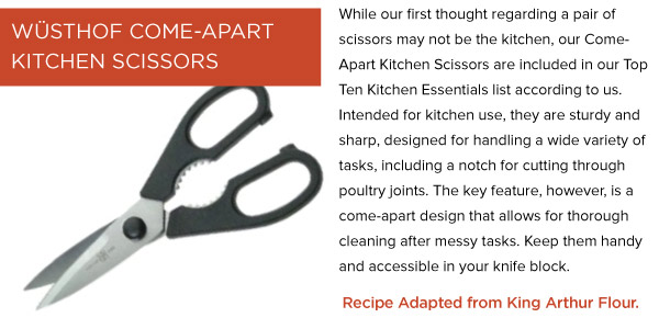 Come-Apart Kitchen Scissors