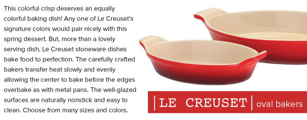 Le Creuset Oval Bakers
