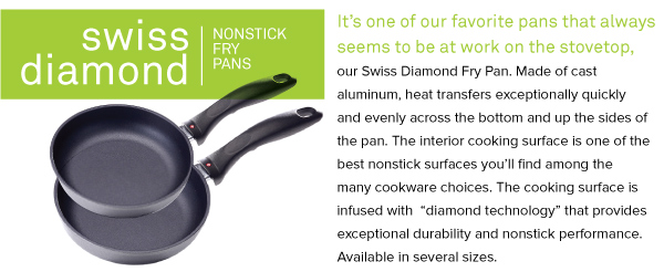 Swiss Diamond Nonstick Fry Pans