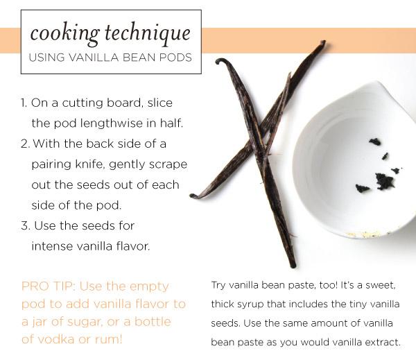 Cooking Technique: Using Vanilla Bean Pods