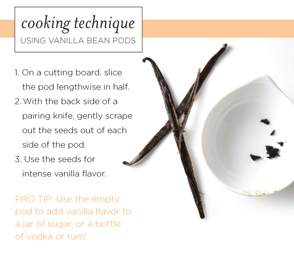 Cooking Technique: Using Vanilla Bean Pods