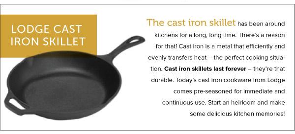 Lodge Cast Iron Skillet