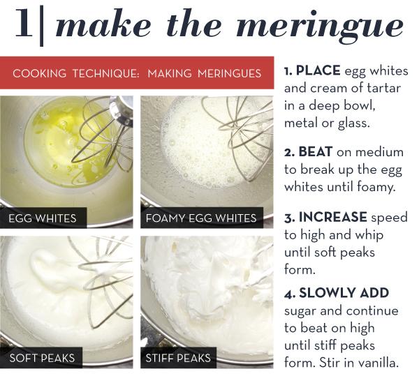 Make the Meringues