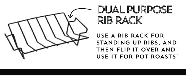 Dual Purpose Rib Rack