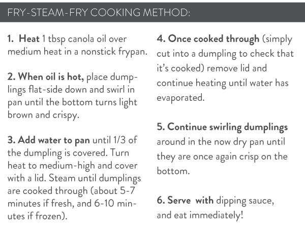 Fry-Steam-Fry Method