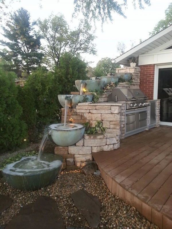 NY-Water Feature - Pond Contractor, Designer, Builder ... on Water Feature Ideas For Patio id=91344