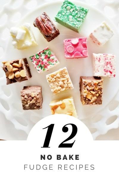 12 no bake fudge recipes 2 ingredient fudge christmas fudge recipes holiday fudge