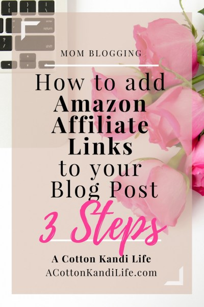 How to Add Amazon Affiliate Links to your WordPress Blog Post. Blogging Tutorials. Blogging How to. Amazon Associates Program