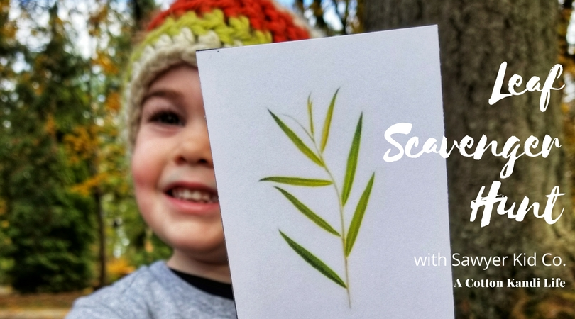 Autumn Leaf Scavenger Hunt | Go Outside with Sawyer Kid Co.