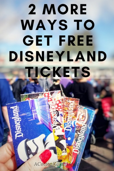 How I earned Free Disneyland Admission Tickets. How I took my family to Disneyland for Free. Earn Disneyland Tickets. The Cheapest way to go to Disneyland. Disneyland Hacks. Disneyland Point Cards. How to earn Disneyland Points. Free Disneyland Tickets. Swag Bucks