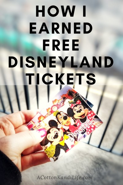 How I earned Free Disneyland Admission Tickets. How I took my family to Disneyland for Free. Earn Disneyland Tickets. The Cheapest way to go to Disneyland. Disneyland Hacks. Disneyland Point Cards. How to earn Disneyland Points. Free Disneyland Tickets.