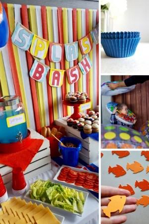 How to host a Beach Party. Beach Ball Themed Party. Summer Kids Party Ideas. Beach Ball Birthday Party. Beach Ball Arch. Spilsh Splash Bash. Beach Ball Party Decorations. Splish Splash Birthday Bash