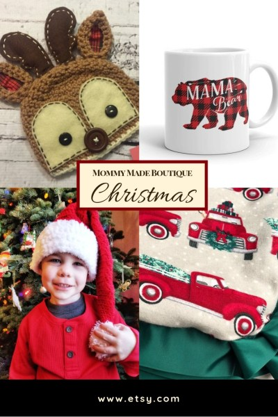 Christmas Shopping from The Mommy Made Boutique