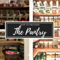How to Organize a Pantry | Home Organizing