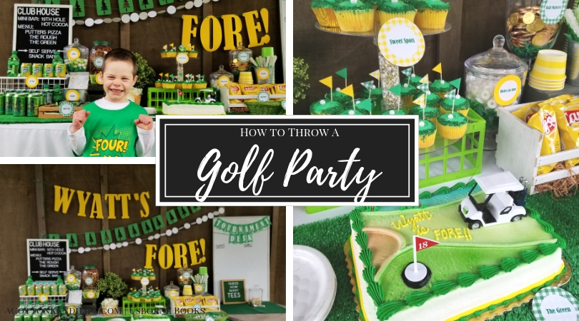 How to throw a Golf Birthday Party | Wyatt's FORE!