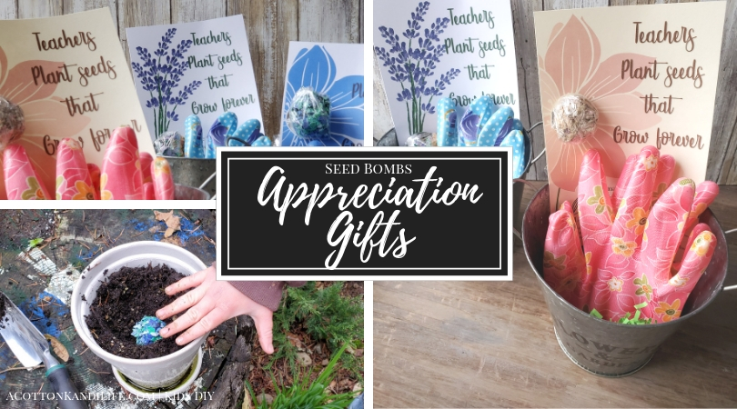 """Teachers Plant Seeds that Grow Forever is a great Teacher Quote for Teacher Appreciation Week. Tell your teachers """"You're the Bomb!"""" with Lavender Seed Bombs the kids can make with this Kids DIY Project"""