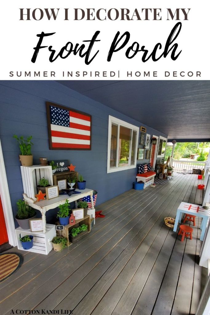 Decorating your Front Porch for Summer just got easier with fun and easy inspirations. Build Year-Round interest in your Porch Styling Structure. Front Porch Decorating on a Budget. Front Porch Decorating for Summer.