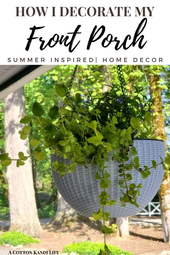 Porch Hanging Basket Ideas. Plants for Hanging baskets. How to make Perennial Hanging Baskets. The Best Hanging Baskets for Porches.