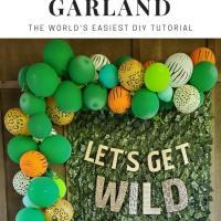 How to Make a Balloon Garland | DIY Tutorial
