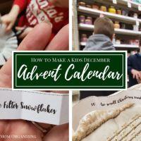 December Advent Calendar for Kids