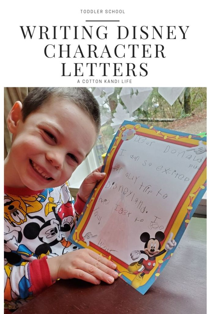 Planning a trip to the Happiest Place on Earth? While you wait for your trip try Writing the Disney Characters a Letter! It's a great way to get your kids excited about going to Disneyland as well as practice their Letter Writing. Learn to write a letter and address envelopes with this fun activity. Free Disneyland Character Addresses Download!  *  Write a Letter to Disneyland Characters. Where to mail a Disney Letter to characters.