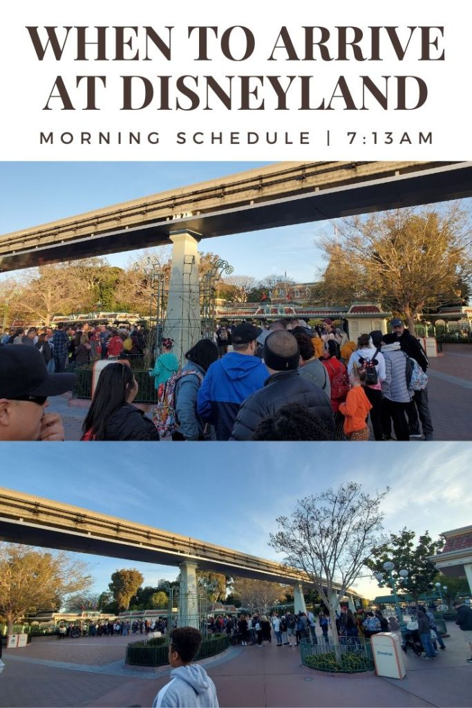 How Early should we get to Disneyland? How long are the lines on a Wednesday? *** Good Morning Disneyland! In this post I'm covering everything you need to know about your to Disneyland Morning Schedule. I'm sharing our morning tips and tricks without a Magic Morning or Extra Magic Hour. I also give a little peek into our Rise of the Resistance experience. This is our Real Day Schedule with 5 People.
