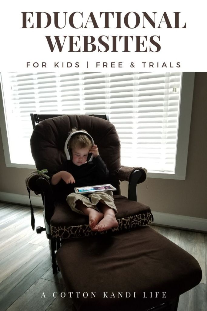 Here's the thing, I have no interest in  becoming a home school parent. I still have a full work day of my own to manage. Sure, it's an at home business, but I need Educational Websites my kids can run on their own. Here is my list of Educational Websites for Kids with Free or nearly Free resources.