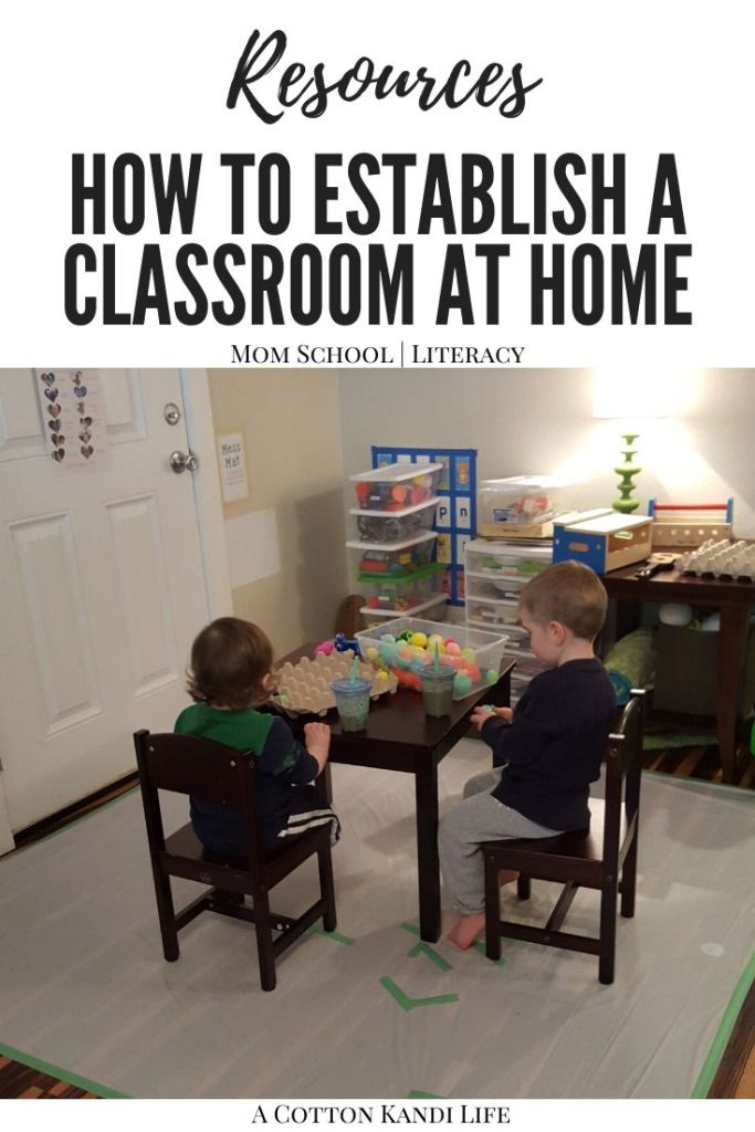 Organizing a Homeschool Classroom is a fun and exhausting task. You must identify Where you'll teach, how you'll teach and when you'll teach it. The What comes later. In this post I'm sharing how I built our Homeschool Preschool Classroom around 3 Prepared Environments.  * Homeschool Classroom Setup, Organizing, Kindergarten Classroom. Small Learning Spaces for Homeschool.