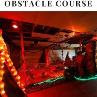 The Floor is Lava Obstacle Course for Kids