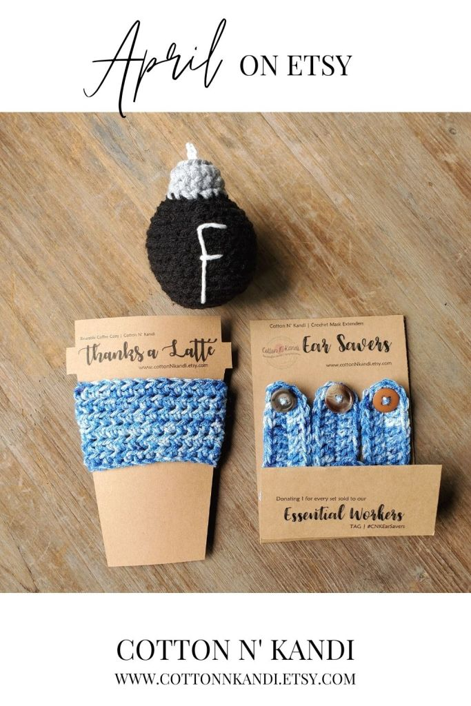 Still loving on our Essential Workers. If you're feeling extra appreciative here is a fun gift set for them. It includes one Thanks a Latte Coffee Sweater, a 3-Pack of Ear Saver Mask Extenders and of course, the Infamous F-Bomb, because, well, you know.  . Find this gift set and more Here: https://www.etsy.com/shop/CottonNKandi?ref=seller-platform-mcnav&section_id=22827373 . #cottonnkandi #springtrends #springtrend #springfashion #etsyhandmade #etsysellersofinstagram #etsyfind  #etsygifts #etsyhunter #etsysellers #etsysale #etsyforall #etsyusa #shopetsy #etsyfinds #etsyshopowner  #craftsposure #toddlerfashion #etsystore #creativelifehappylife #makersvillage #makersmovement #supporthandmade #calledtobecreative #favehandmade #etsylove #creativepreneur #shophandmade #kidsfashion #creativityfound