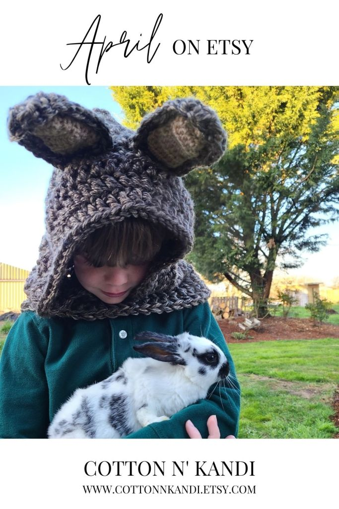 The best way to cuddle up this Spring, with a Bunny.... Character Hood! For cozy cuddles and warm ears: Shop Here: https://www.etsy.com/listing/557883446/hooded-scarf-bunny-family-costumes?ref=shop_home_feat_1&pro=1 . #cottonnkandi #easteriscoming #easterbunny #springtrends #springtrend #springfashion #etsyhandmade #etsysellersofinstagram #etsyfind #etsygifts #etsyhunter #etsysellers #etsysale #etsyforall #etsyusa #shopetsy #etsyfinds #etsyshopowner #craftsposure #toddlerfashion #etsystore #creativelifehappylife #makersvillage #makersmovement #supporthandmade #calledtobecreative #favehandmade #etsylove #creativepreneur #shophandmade