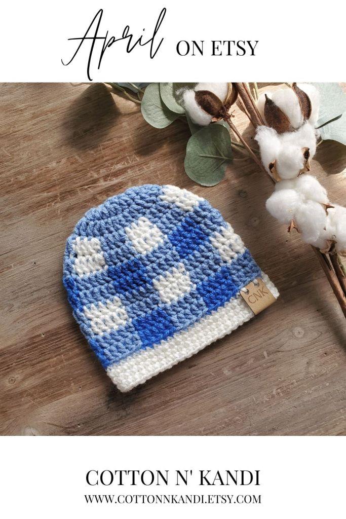 The Blue Plaid Hat is a great gender Neutral Baby Shower Gift. Or, pair it up in a gift basket for a Baby Sprinkle in the Spring!  . SHOP: https://www.etsy.com/listing/688194186/crochet-hat-plaid-babygirl-clothes?ref=shop_home_active_8&pro=1  . . #cottonnkandi #springtrends #springtrend #springfashion #etsyhandmade #etsysellersofinstagram #etsyfind  #etsygifts #etsyhunter #etsysellers #etsysale #etsyforall #etsyusa #shopetsy #etsyfinds #etsyshopowner  #craftsposure #toddlerfashion #etsystore #creativelifehappylife #makersvillage #makersmovement #supporthandmade #calledtobecreative #favehandmade #etsylove #creativepreneur #shophandmade #kidsfashion #creativityfound