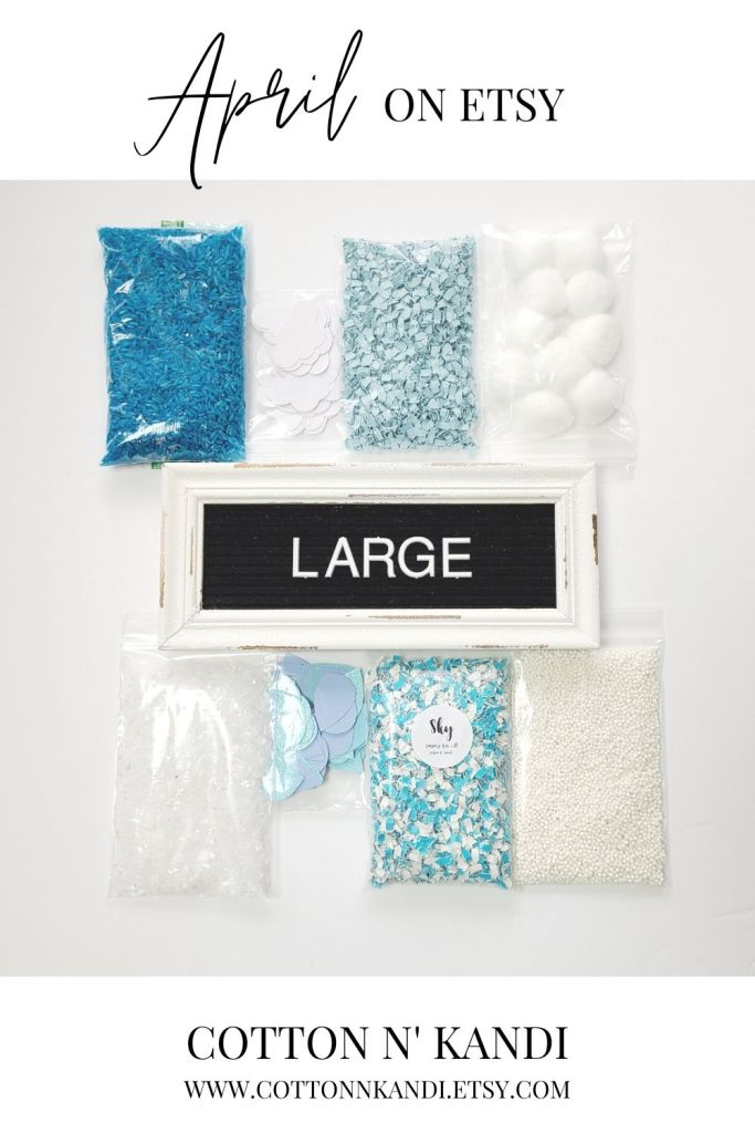 Grab all the Rainy Day Sensory Bin fun when you bring home the LARGE kit with all 8 textures. With this upgraded kit we've added in taste-safe tapioca pearls and artificial snow. Let little hands create their our weather storms while they discover and play!  . SHOP this Bin: https://www.etsy.com/listing/985018709/sensory-bin-rainy-day-blair-waldorf-toys?ref=shop_home_active_12&pro=1 * #cottonnkandi #etsyhandmade #etsysellersofinstagram #etsyfind #sensoryplay #sensorybinideas #sensorybin #discoverylearning #sensorytoys #playideas #learnthroughplay #learningthroughplay #toddleractivities #finemotorskills #invitationtoplay #playbasedlearning #montessoriinspired  #kidactivities #playmatters #earlylearning #preschoolactivities #letthemplay #playandlearn #sensory #creativitymatters #Creativityfound #earlychildhoodeducation #shopetsy #totschool