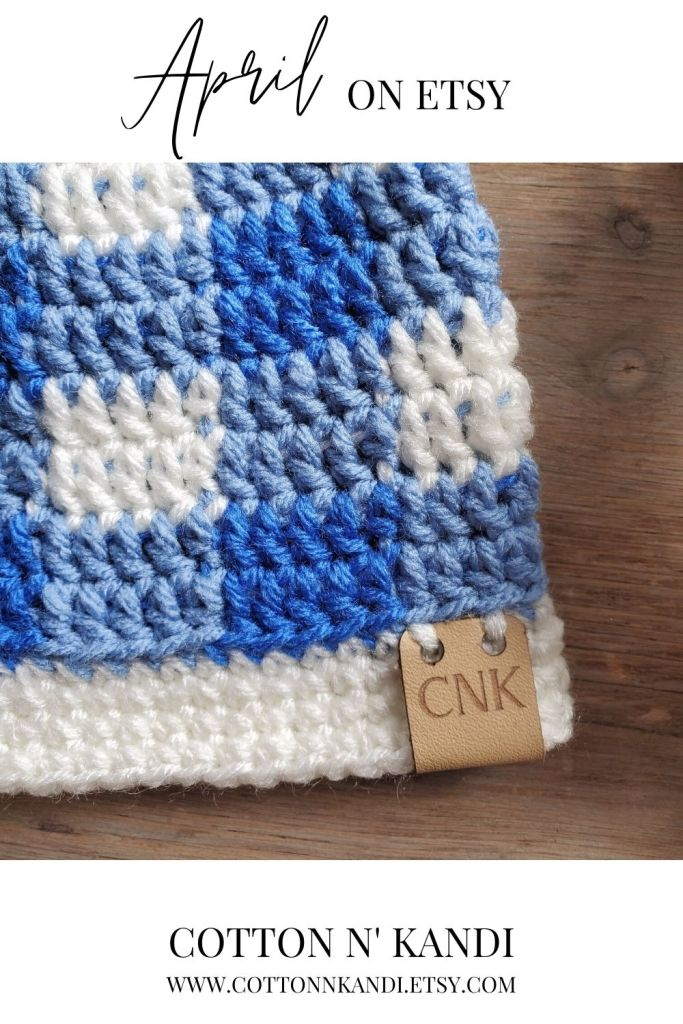 Make sure you're nice and warm as the weather and winds change throughout April. This Beautiful Blue Plaid hat is all inspired by April Showers Colors. Very on trend for fall if I do say so myself. Available in Newborn to Adult Sizes too! . SHOP: https://www.etsy.com/listing/688194186/crochet-hat-plaid-babygirl-clothes?ref=shop_home_active_8&pro=1  . . #cottonnkandi #springtrends #springtrend #springfashion #etsyhandmade #etsysellersofinstagram #etsyfind  #etsygifts #etsyhunter #etsysellers #etsysale #etsyforall #etsyusa #shopetsy #etsyfinds #etsyshopowner  #craftsposure #toddlerfashion #etsystore #creativelifehappylife #makersvillage #makersmovement #supporthandmade #calledtobecreative #favehandmade #etsylove #creativepreneur #shophandmade #kidsfashion #creativityfound
