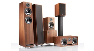 Acoustic Energy 1-Series (Walnut)
