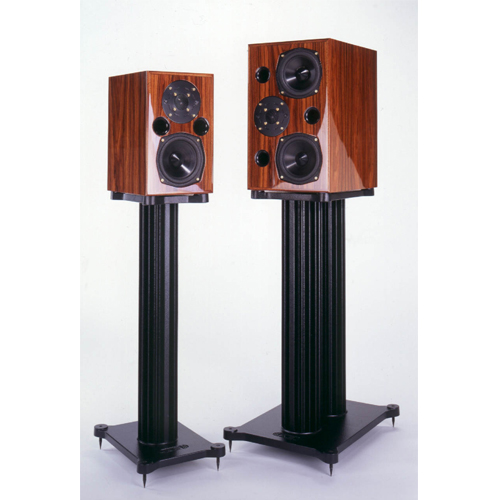AE2, AE3, AE4 stand-mount speakers and AE5 floor-stander