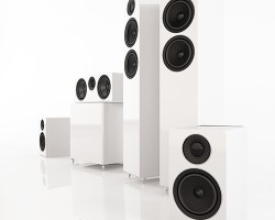 Acoustic Energy 300 Series Group Shot (White)